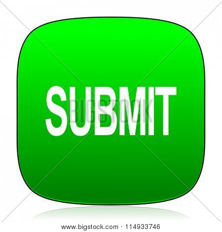submit green icon
