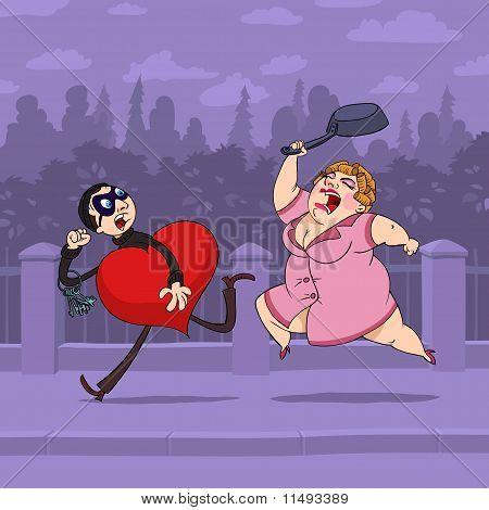 Gestohlene Valentinstag