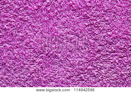 Terry Cloth Texture Closeup Background
