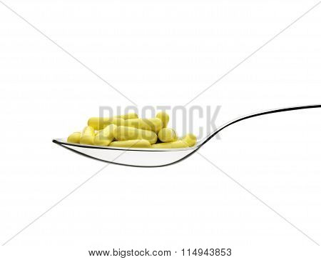 Pills And Spoon