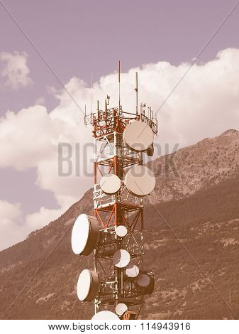 Communication Tower Vintage