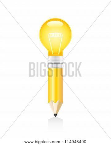 Idea Pencil Concept