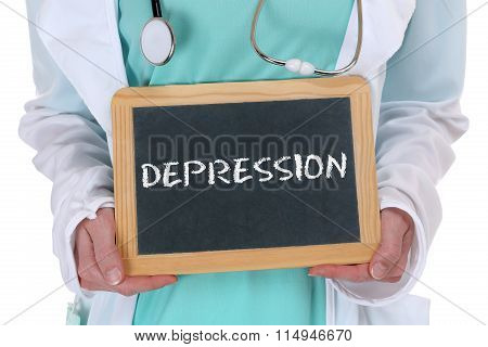 Depression Depressed Burnout Ill Illness Healthy Health Doctor