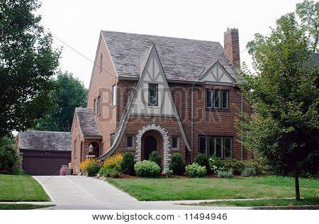 Stick Style Brick House