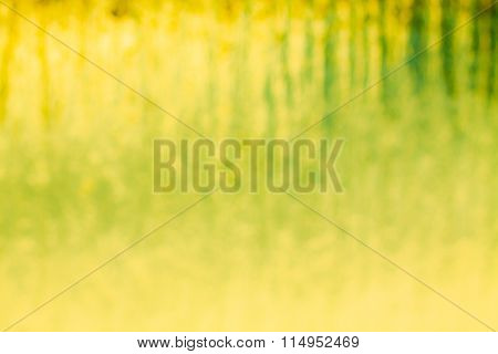 Glass background.