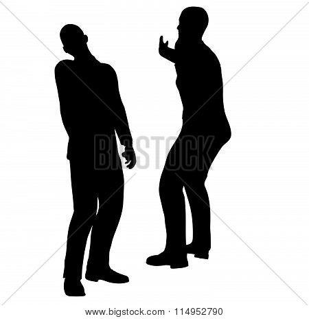Businessman Slap