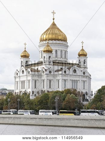 Cathedral Of The Redeemer. Moscow
