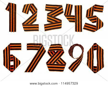 Saint George Ribbon Digits