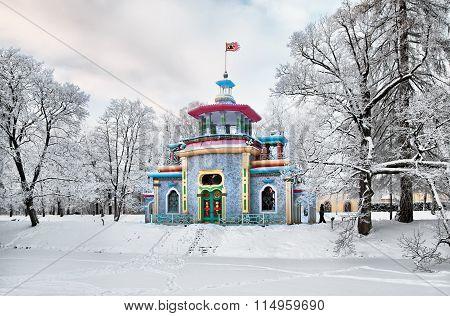 Tsarskoye Selo. Russia. The Creaking (Chinese) Pavilion