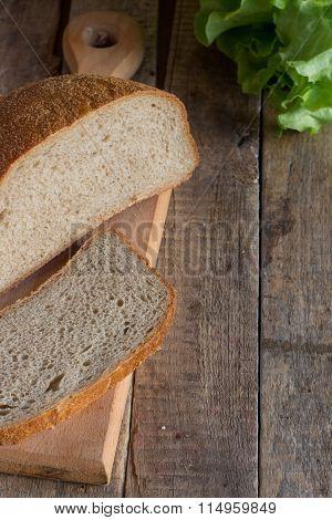 domestic, bread, soft, fragrant, natural