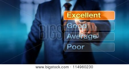 Human Resources Manager Choosing Excellent