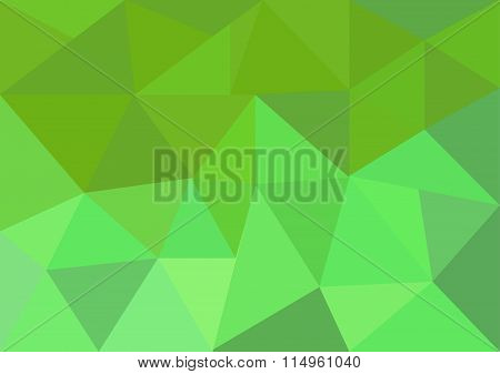 Low poly style vector, Green and pink low poly design, low poly style illustration, Abstract low pol