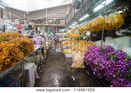 Flower Market Name in Thailand