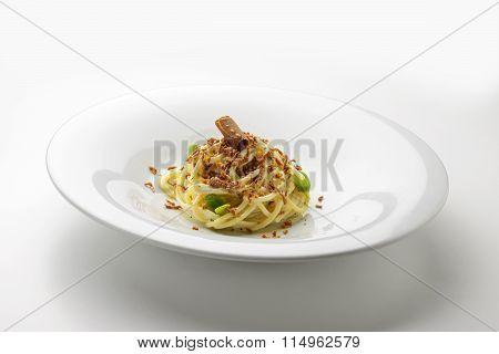Spaghetti Sour Cream And Roe