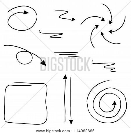 Hand Drawn Design Infographic Elements