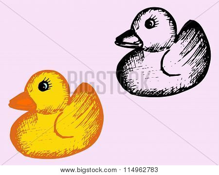 bath rubber duck