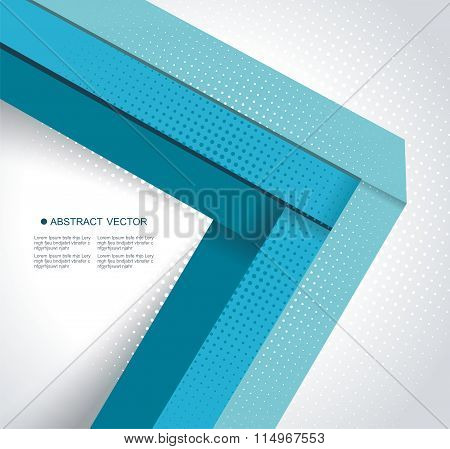 Abstract Background, Number Options, Steps Banners, Workflow Layout, Web Design.