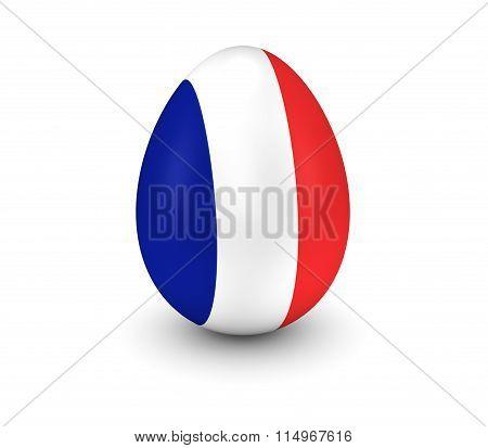 France Egg 3D