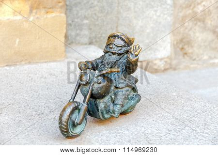 Wroclaw. Sculpture gnome.