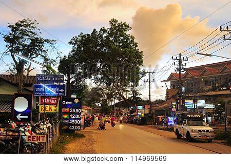 Thailand Island Street