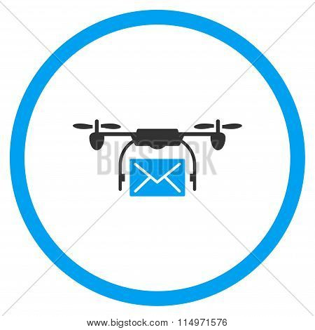 Mail Air Copter Delivery Icon