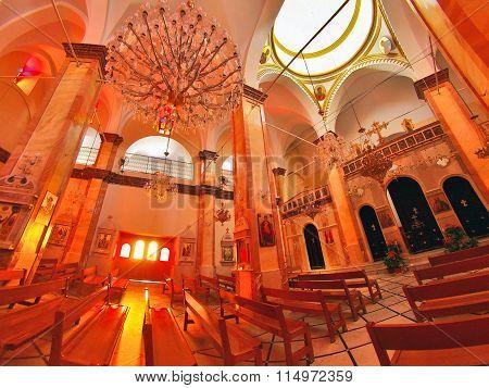 Synagogue Church In Nazareth
