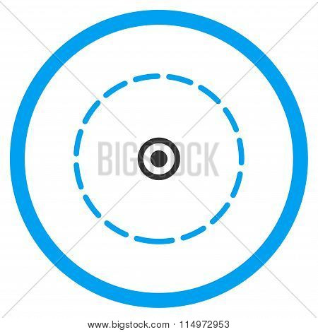 Round Area Icon
