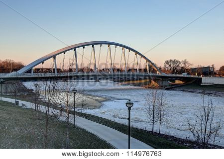 Town Street bridge Columbus, Ohio