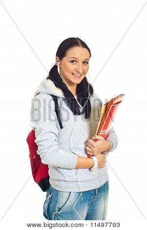 Smiling Student Woman