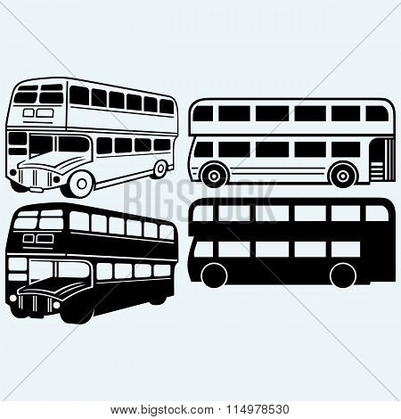 British double-decker bus