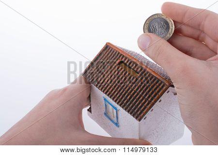 Saving Money In Moneybox