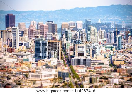 San Francisco Tilt Shift