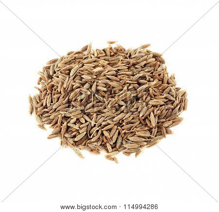 pile of dried cumin