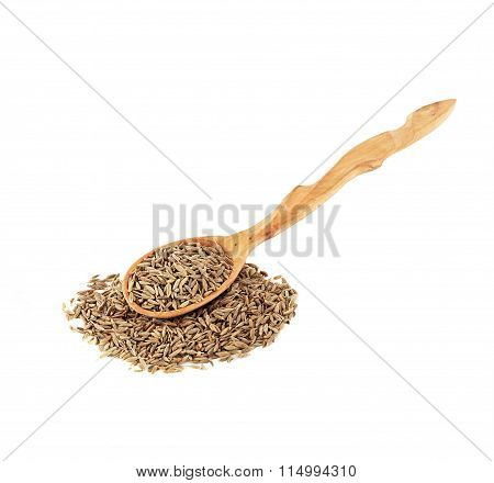 spoon of dried cumin