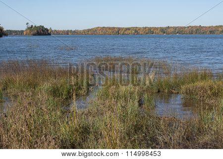 Fall Colors At Franklin Lake
