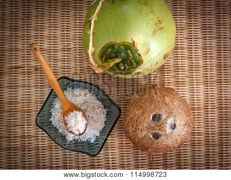 Three Different Coconuts