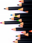 foto of storyboard  - a image of a color pencils for used - JPG