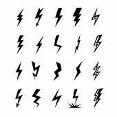 Постер, плакат: Set Lightning Icon