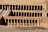 pic of skarabaeus  - ancient temple of hatschepsut at theben west - JPG
