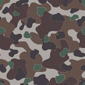Military Camouflage Textile Pattern poster