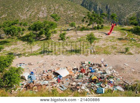 Illegal Dumpster