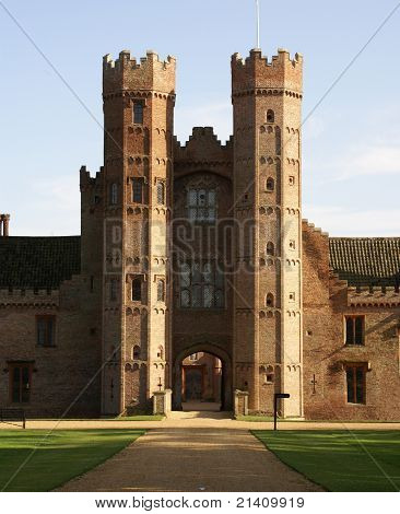 Oxburgh Hall gatehouse
