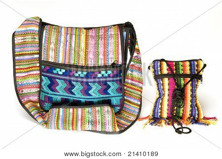 Variety Shoulder Bag Change Purse Made In Nicaragua