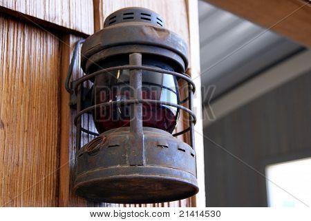 Old Oil Lantern