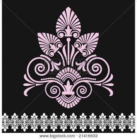 Viktorianische floral Form