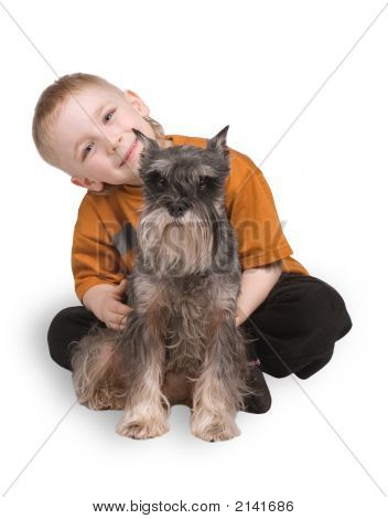 The Child With A Dog