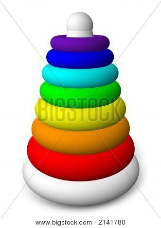 Children'S Toy Pyramid