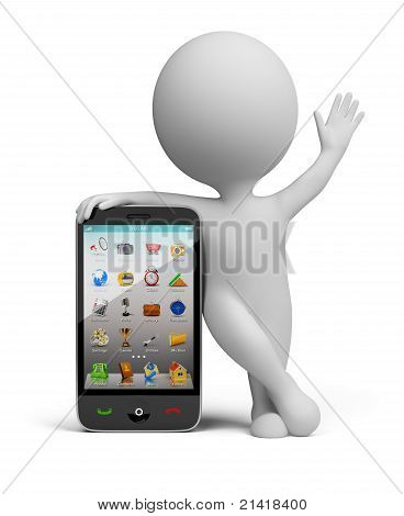 3D Small People - Smartphone