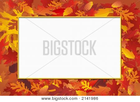 Fall Photo Frame
