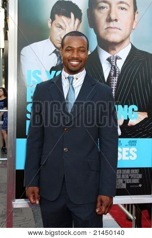 LOS ANGELES - JUN 30:  Isaiah Mustafa arriving at the